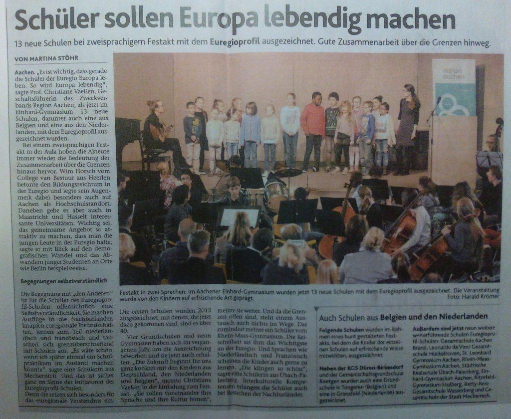 Euregioprofil-Zeitung